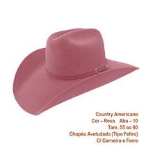 Chapéu Cowboy Country Rodeio Masculino E Feminino