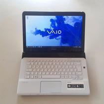 Notebook Sony Vaio Sve14 I3 4gb 500gb Hdmi Win10 #top