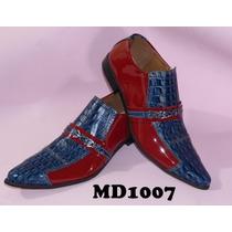Sapato Masculino Luxo Em Couro Modelos (1007 A 1011)