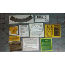 Emblema Gm Manual Peças Chevrolet C10 D10 Veraneio C14 D14