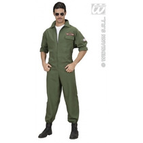 Piloto Traje - Adultos Mens Medium Jet Fighter Macacão