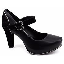 Sapato Scarpin Feminino Boneca Dakota B7894 Loja Pixolé