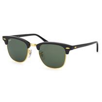 Óculos De Sol Ray Ban Clubmaster Rb3016 W0365 - Tam.: 51 Mm