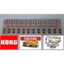 Borracha Teclado Korg X-5d Original Frete Grátis Promoção