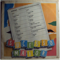 891 Mvd- 1988 Lp- Sucesso Maior- Coletânea- Vinil Disco