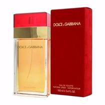 Dolce & Gabbana Red 100 Ml Tradicional Vermelho Original