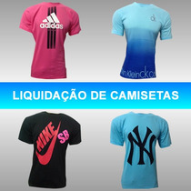 Kit 10 Camisetas Hollister Abercrombie Tommy Calvin Atacado