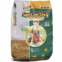Ração Special Dog Vegetais 15kg + ( Brinde )