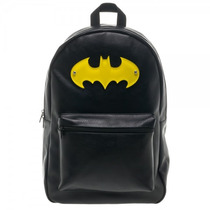 Mochila Batman , Logo Em Acrílico - Bp2nekbtm