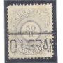 #63 Brasil - Império 1887 - 50 Réis Carimbo Correio Urbano.