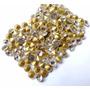 Ponto De Luz Rosa Strass P/ Customizar Chinelos 50 Pedras