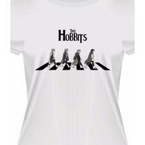 Camiseta Baby Look The Hobbits - O Senhor Dos Anéis