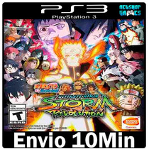 Naruto Shippuden Ultimate Ninja Storm Revolution Ps3 Psn