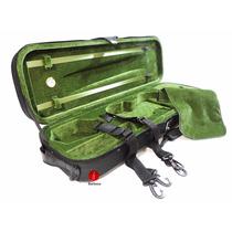 Estojo Case Térmico Retangular Higrômetro Violino 4/4 Verde