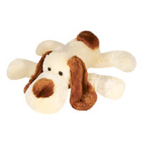 Cachorro-Pelucia-Bege-Deitado-35cm-Lavavel-Antialergico-Novo