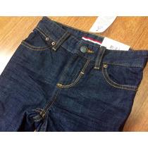 Calça Jeans Straigh Tommy Hilfiger Menino Tamanho 7 Anos