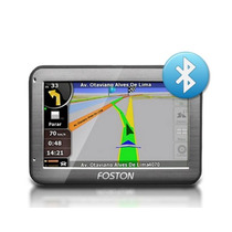 Gps Foston Navegador 4.3´´ Fs-441b Touch, Bluetooth,fm.