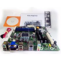 Placa Mãe Chipset Intel H61 - Lga 1155 - Ddr3 16gb - Dvi