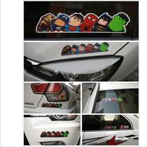 Acessório Adesivo Carro Automotivo Super Heróis Marvel 34598