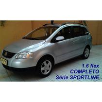 Spacefox Sportline 1.6 Flex, Completo, 2009, Prata