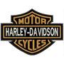 Bordado Harley Davidson Motor Cycles Patch - Pequeno