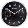 Relógio Parede Herweg 6397 30.5 Cm Termômetro E Higrômetro