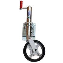 Pedestal Com Roda Para Carreta De Reboque Barco Famit