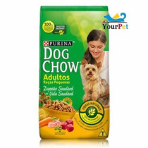 Ração Dog Chow Adultos Raças Pequenas (15 Kg) Nestlé Purina