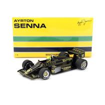 1/18 Ayrton Senna Lotus Renault 97t #12 Formula 1 1985