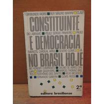 Livro Constituinte E Democracia No Brasil Hoje Vários Autors