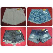 Lote Com 3 Saias E 1 Shorts Sawary Jeans Atacado