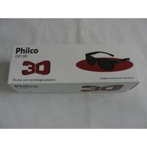 Oculos 3d Passivo Op13d Preto Tv Philco Lcd/led/plasma