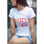 T-shirts Baby Look Cursos Psicologia