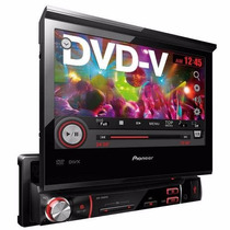 Dvd Player Automotivo Pioneer Avh-3580dvd Tela Retrátil 7
