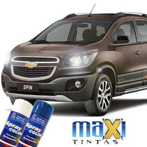 Tinta Spray Automotiva Gm Cinza Aztec + Verniz 300ml