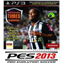 Patch Pes 2013 Brasileirão Atualização Diária Ps3 Americano