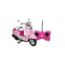 Moto Glamour Da Barbie Com Controle Remoto 7 Funções - Candi
