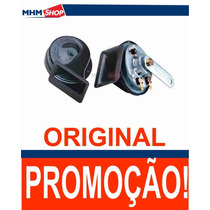 Par De Buzinas Caracol Fiamm Kbc 99 Kbc99 Original Universal
