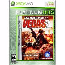 Tom Clany´s Rainbowsix Vegas 2 Xbox 360 Mídia Física Lacrado