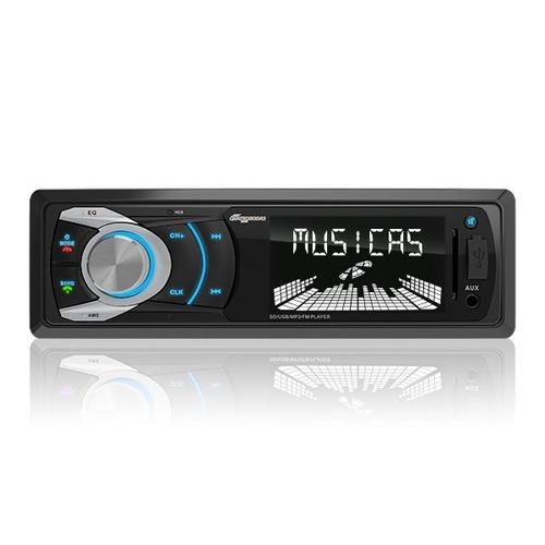 Mp3 Automotivo Quatro Rodas Bluetooth, Vivavoz, Usb, Sd, Aux
