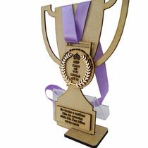 Medalha Honra Ao Mérito Dia Das Mães Provençal Ramos Mdf