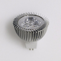 Lâmpada Spot Led 3w Branco Quente Mr16 Gu5.3 Bipino Bi-volt