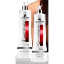 Escova Progressiva Caviar Premium- Duktoush Shampoo E Gloss