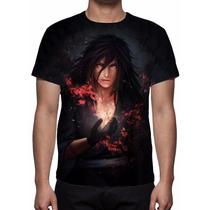 Camisa, Camiseta Anime Naruto Madara Uchiha - Estampa Total