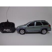 Carro Controle Remoto Fiat Palio Adventure Verde 1/18 Cks