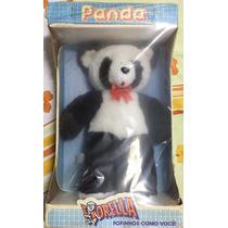 Raridade: Boneco Urso Panda Grande Fiorella Novo Na Caixa