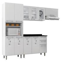 Cozinha Completa Essencial Nature 02 De Aço Branco - Itatiai