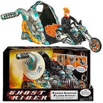 Motoqueiro Fantasma - Ghost Rider - Hasbro - Turbo Cycle