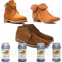 Tinta Para Camurca Nobuck Sapato Camurça Couro Cela Atanado