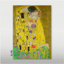 Gustav Klimt O Beijo - Gravura P/ Quadro 70x50cm The Kiss